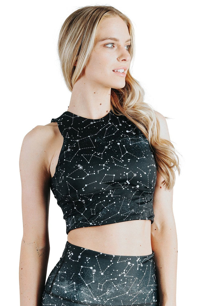 Yoga Democracy Sports Bra Free Range Sports Bra in Star Dust