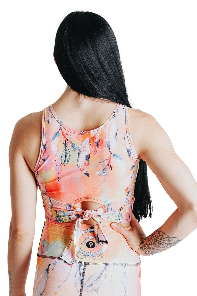 Reversible Knot Top in Papa Don't Peach (4295297761418)