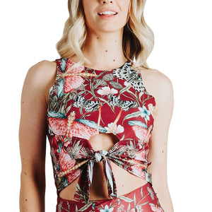 Reversible Knot Top in Pretty In Pink