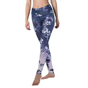 Yoga Democracy Leggings Flowerful Printed Yoga Leggings - Final Sale