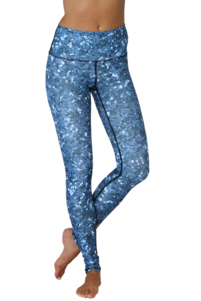 Dharma Printed Yoga Leggings - Vault