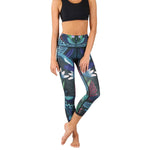 Dragonfly Night Flight Yoga Crops- Vault