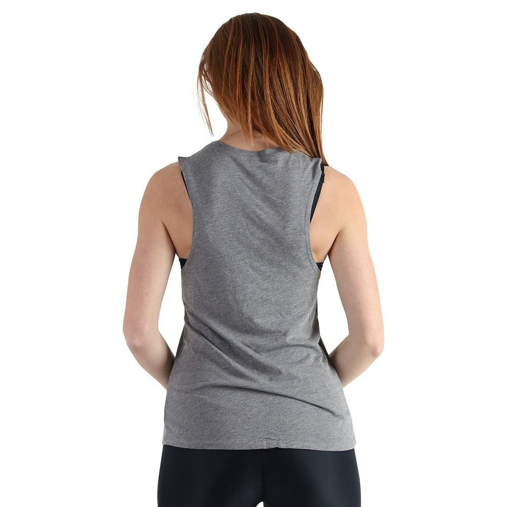 American Made Apparel & Accessories > Clothing > Shirts & Tops by Yoga Democracy hOMie - Bamboo Organic Muscle Tee - Grey
