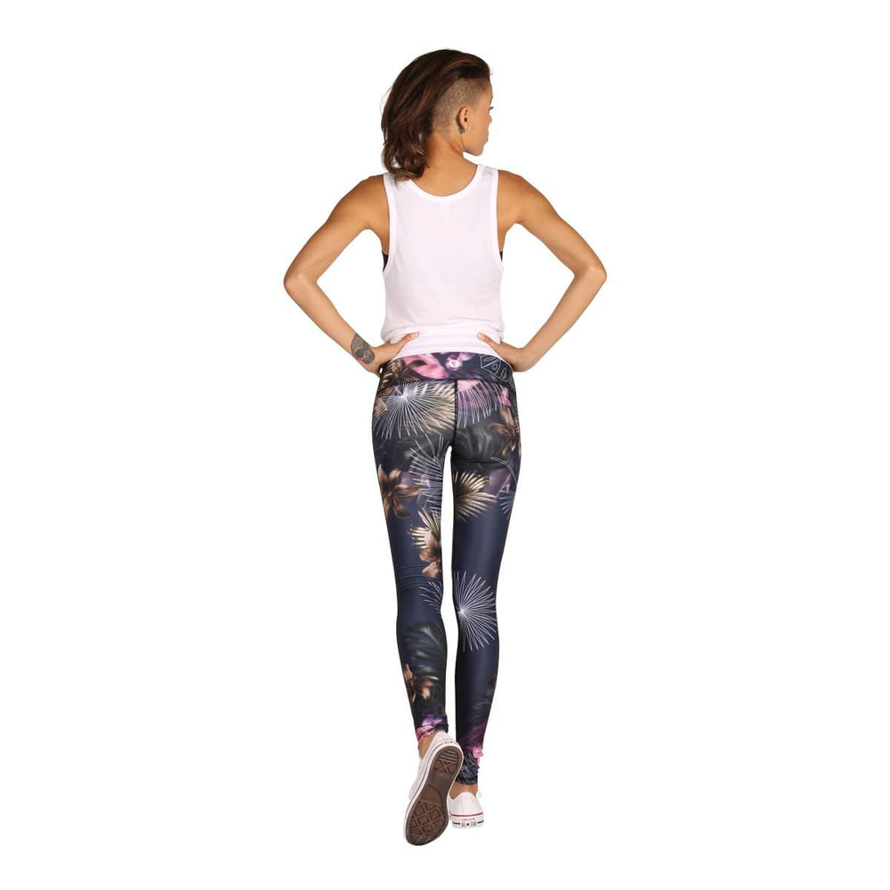 Yoga Democracy Leggings Palm Reader Printed Yoga Leggings - Final Sale