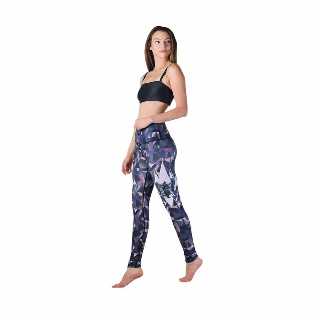 American Made Leggings by Yoga Democracy Kaleidoscape Printed Yoga Leggings - Final Sale