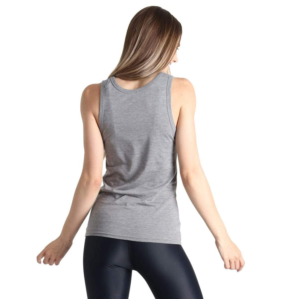 Yoga Democracy Apparel & Accessories > Clothing > Shirts & Tops Plant Based - Bamboo Organic Muscle Tee - Grey
