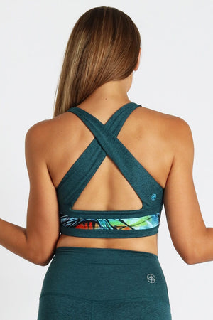 Yoga Democracy Sports Bra Emerge Reversible Yogavator Bra