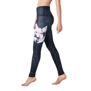Yoga Democracy Leggings Howl's it Printed Yoga Legging