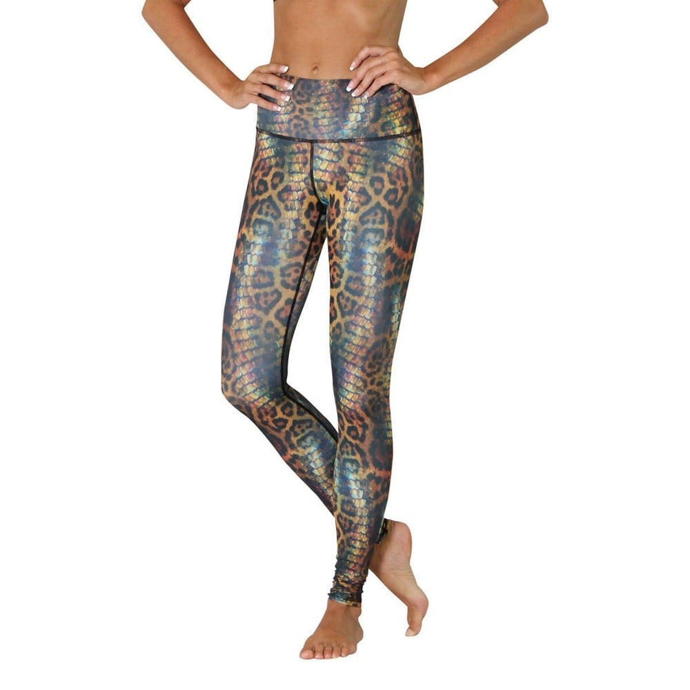 Animal Printed Yoga Leggings - Vault