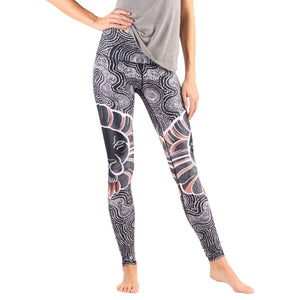 Yoga Democracy Leggings Lions Don't Sheep Printed Yoga Leggings - Final Sale