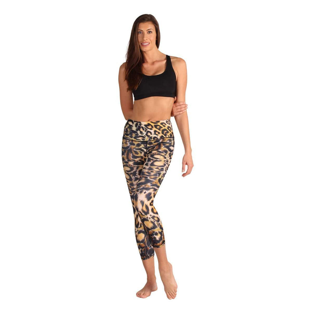 Yoga Democracy Leggings Powers of Purr-Suasion Yoga Crops - Vault