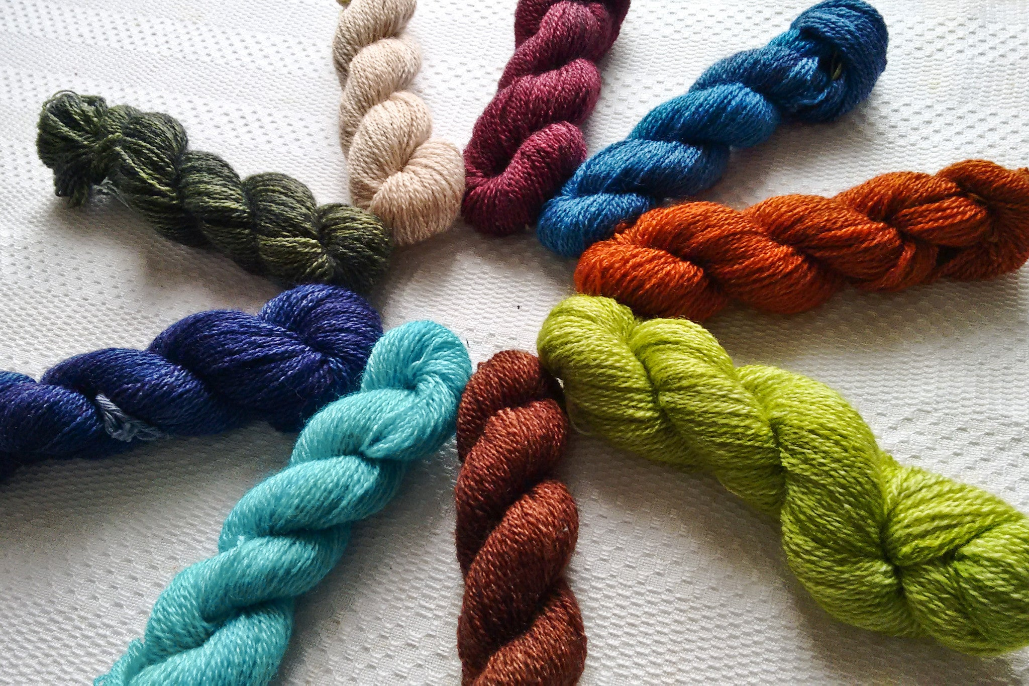 Dye Experiments: New Arietta Colours
