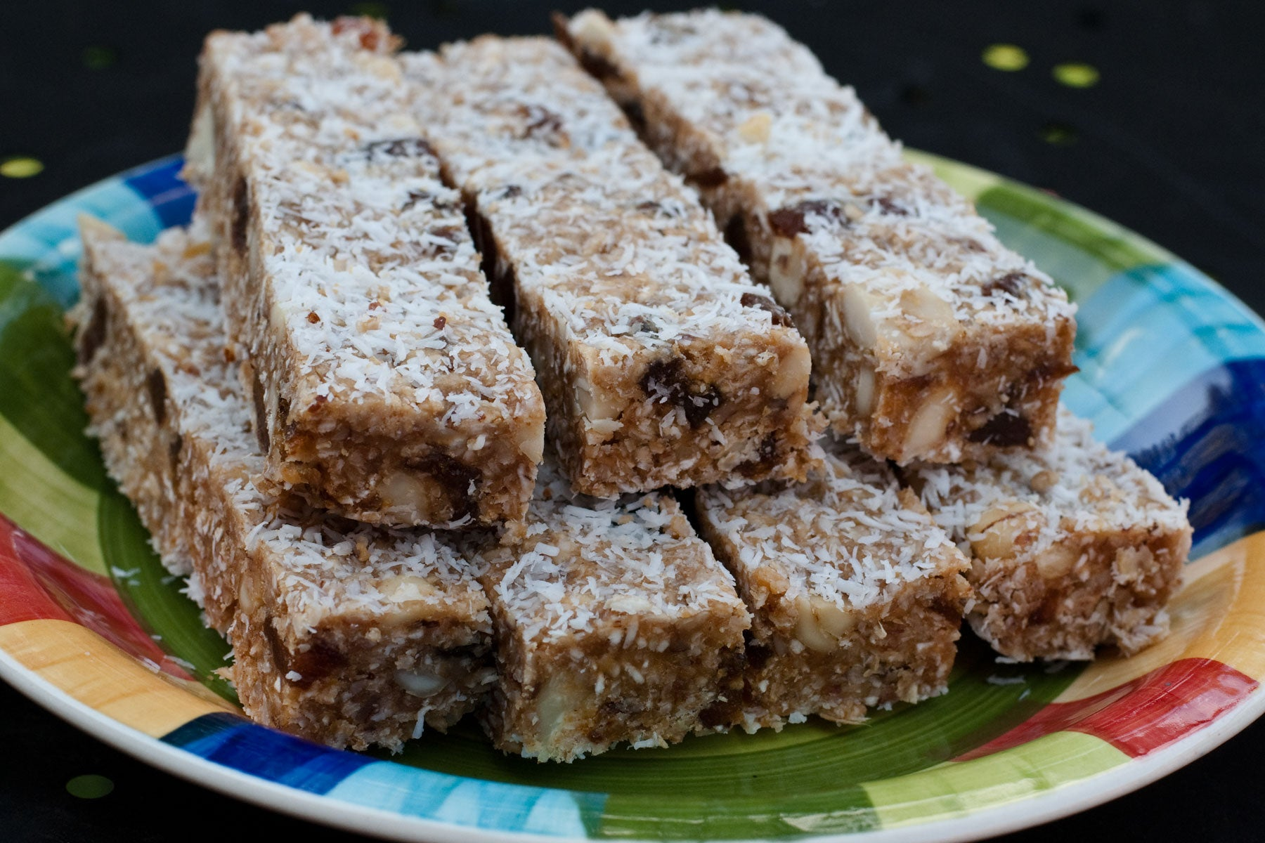 High-protein low-sugar energy bars