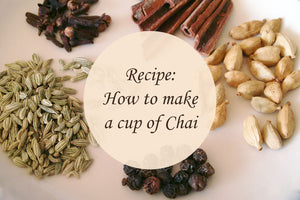 Recipe: How to make a cup of Chai