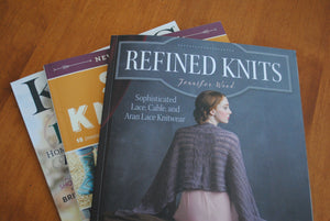 Refined Knits: book review and yarn give-away