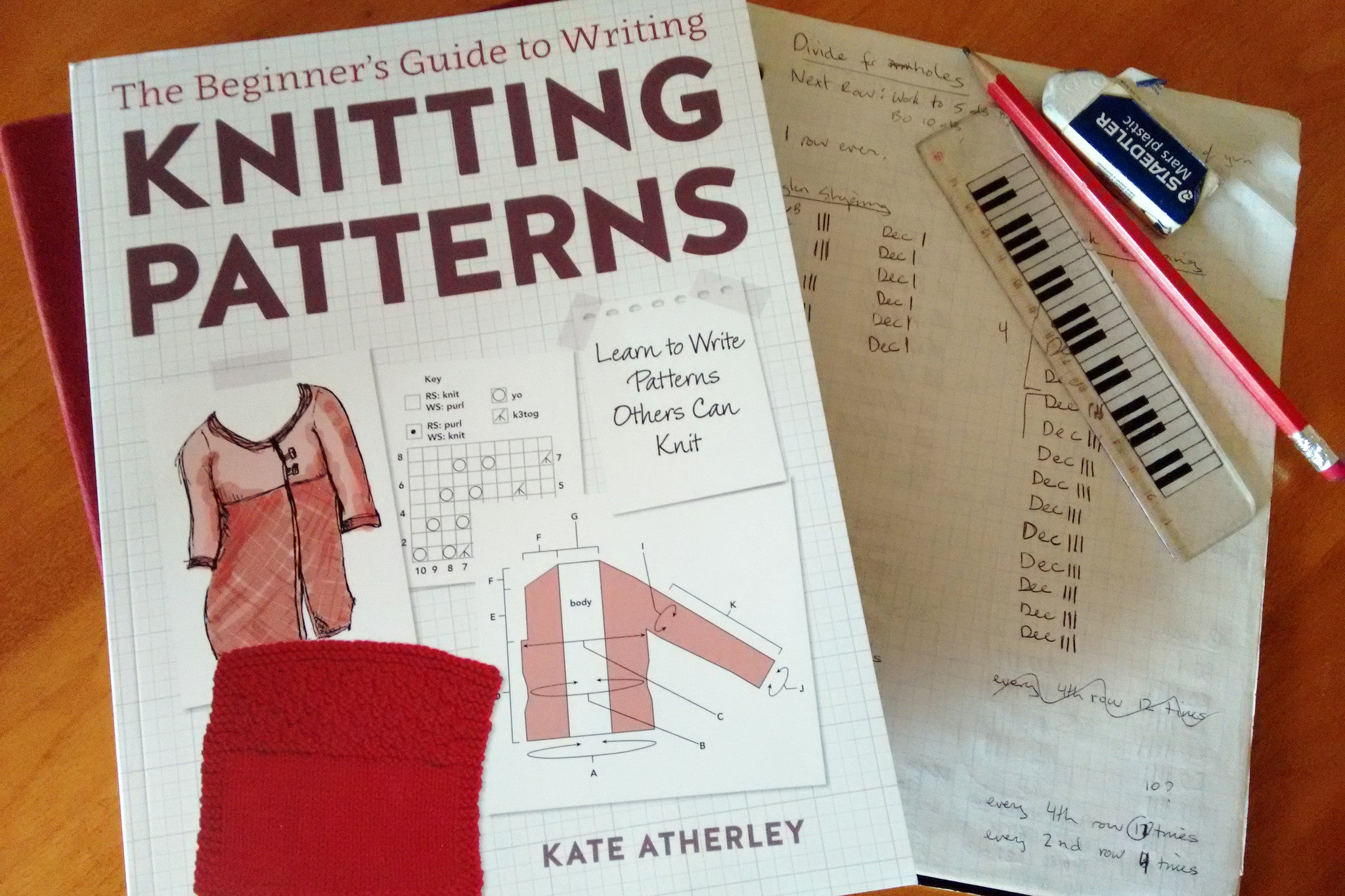 Book review: The Beginner's Guide to Writing Knitting Patterns