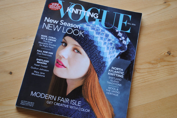 Review: Vogue Knitting Magazine