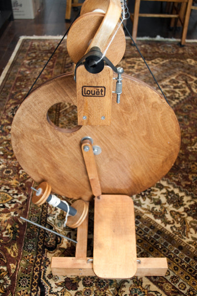Louet spinning wheel