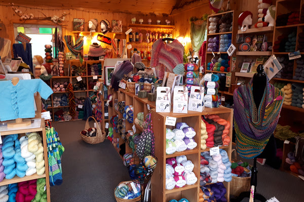 Baadeck yarns interior cape breton