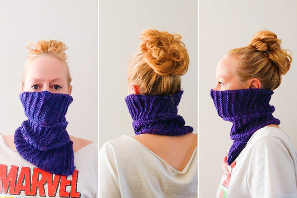 Cyclone Cowl knitting pattern