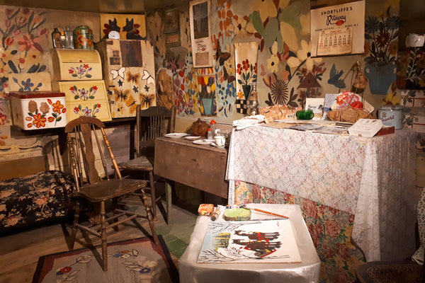 Maud Lewis house at Art Gallery of Nova Scotia