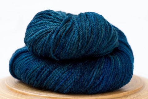 Sweet Paprika Norwood canadian hand-dyed yarn in Pirate Cove