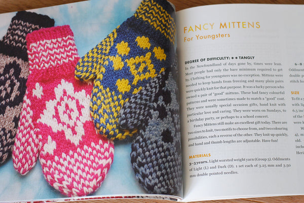 Colourful Fancy Mittens for Youngsters from Saltwater Gifts