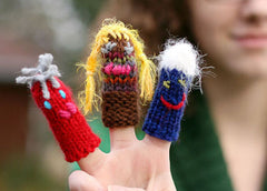 Fast and Easy finger puppets