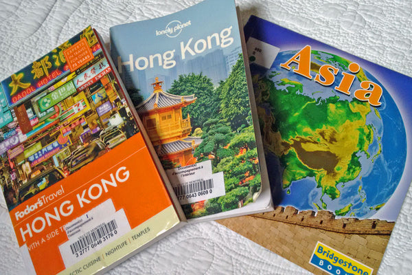 Travel guides for Hong Kong