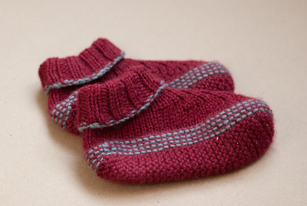 Slippers for sock stop trial