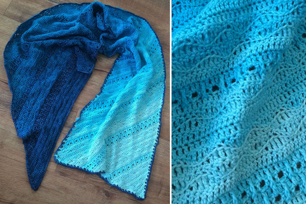 Storm Dance crocheted wrap