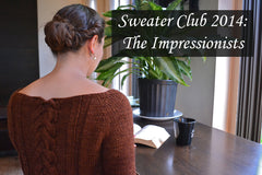 Sweater Club 2014: The Impressionists