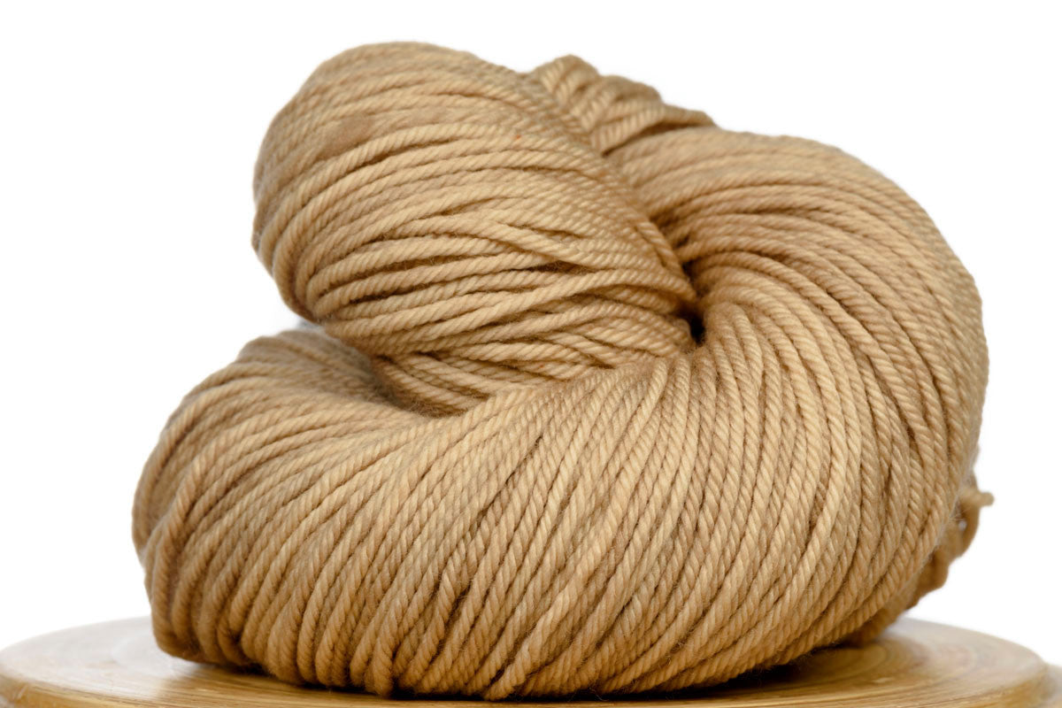 Andante hand-dyed worsted weight merino in Cafe au Lait