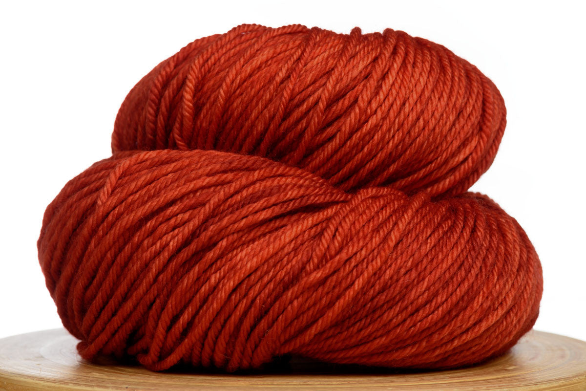 Andante hand-dyed worsted weight merino in Crushed Chili