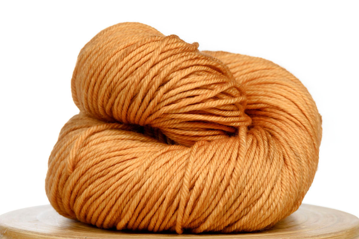 Andante hand-dyed worsted weight merino in Harvest Moon