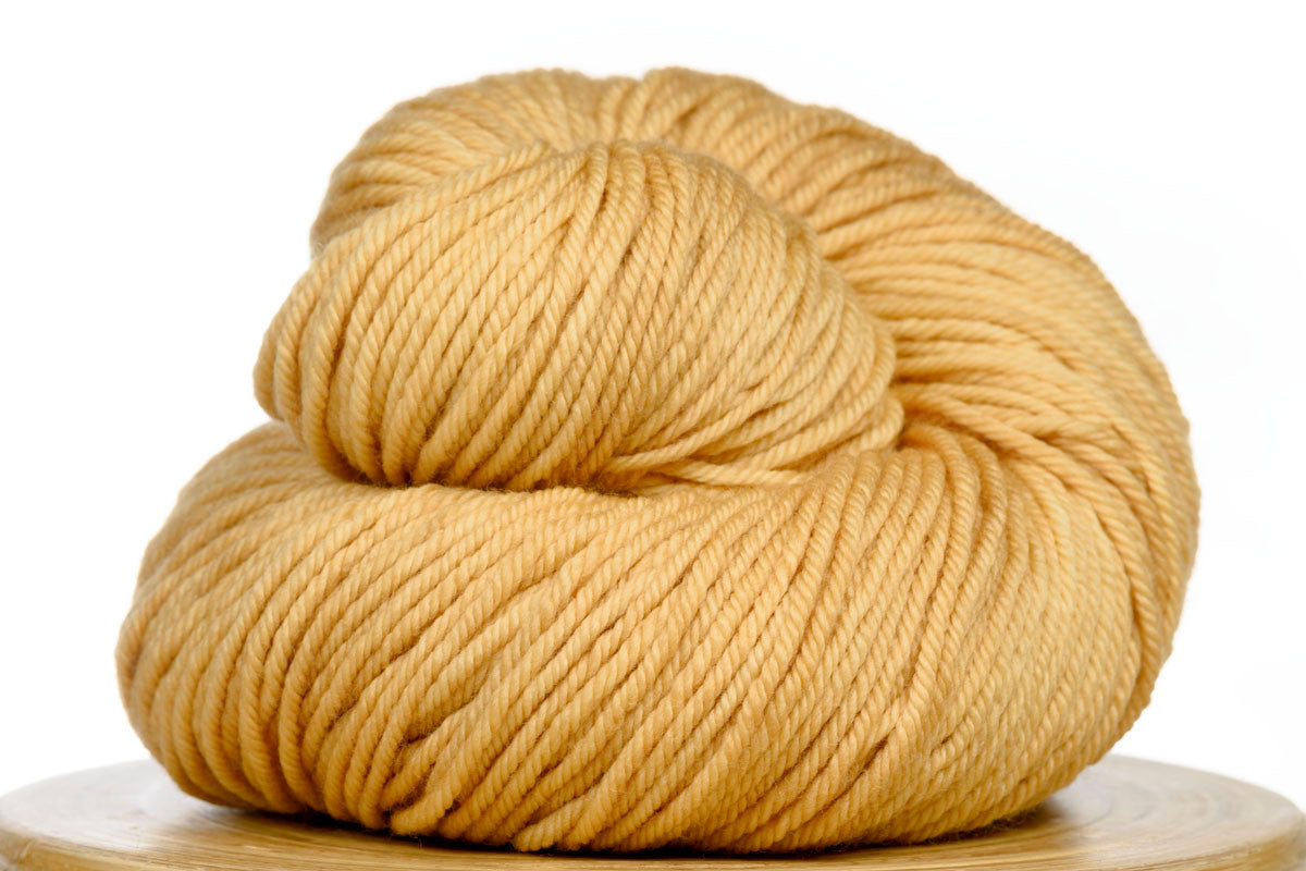 Andante hand-dyed worsted weight merino in Mango