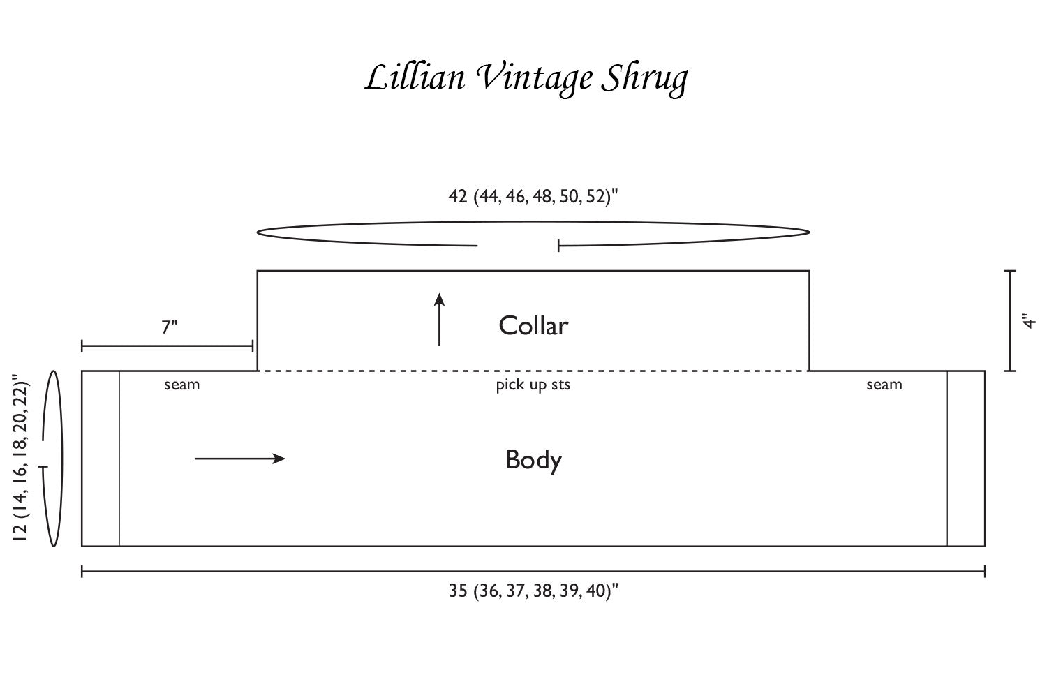 Lillian Vintage Shrug