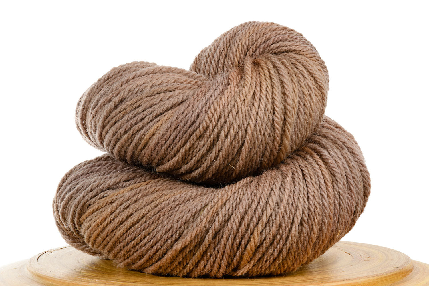 Sand Castle - light neutral brown hand-dyed DK weight wool