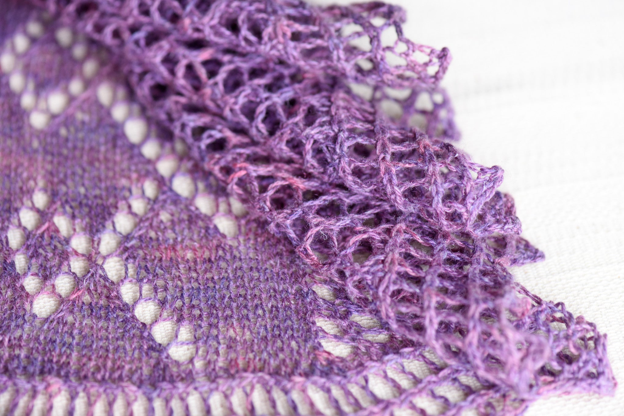 Meandering Pathway Shawl