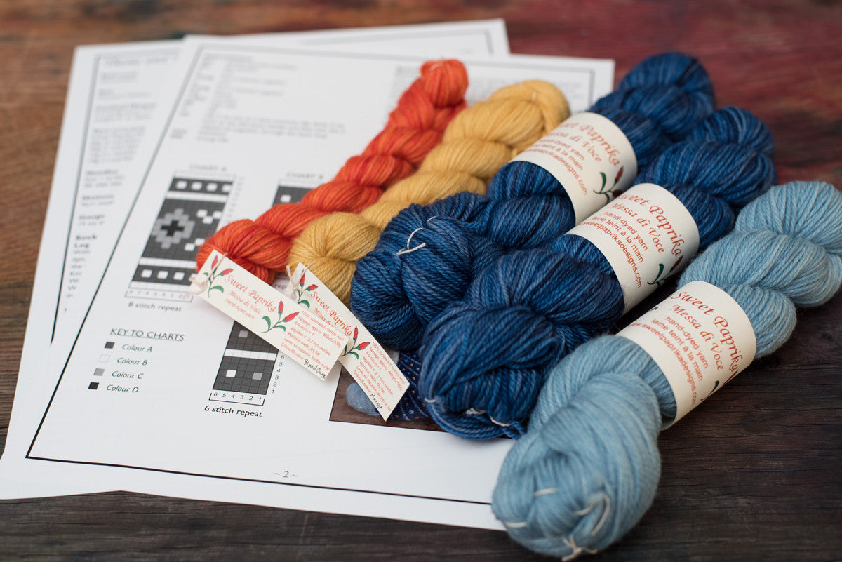 Theme & Variations Sock Knitting Kit