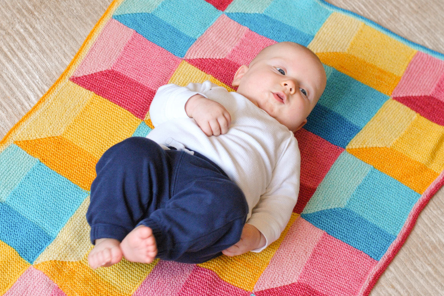 Attic Windows Baby Blanket