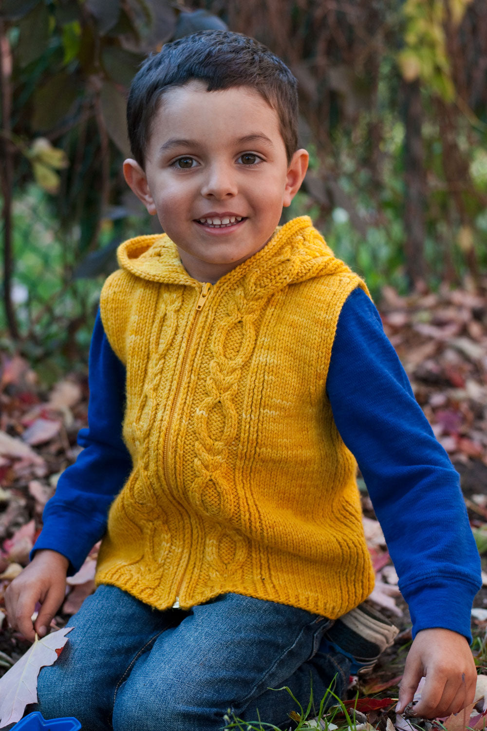 Autumn Hike Hoodie Knitting pattern