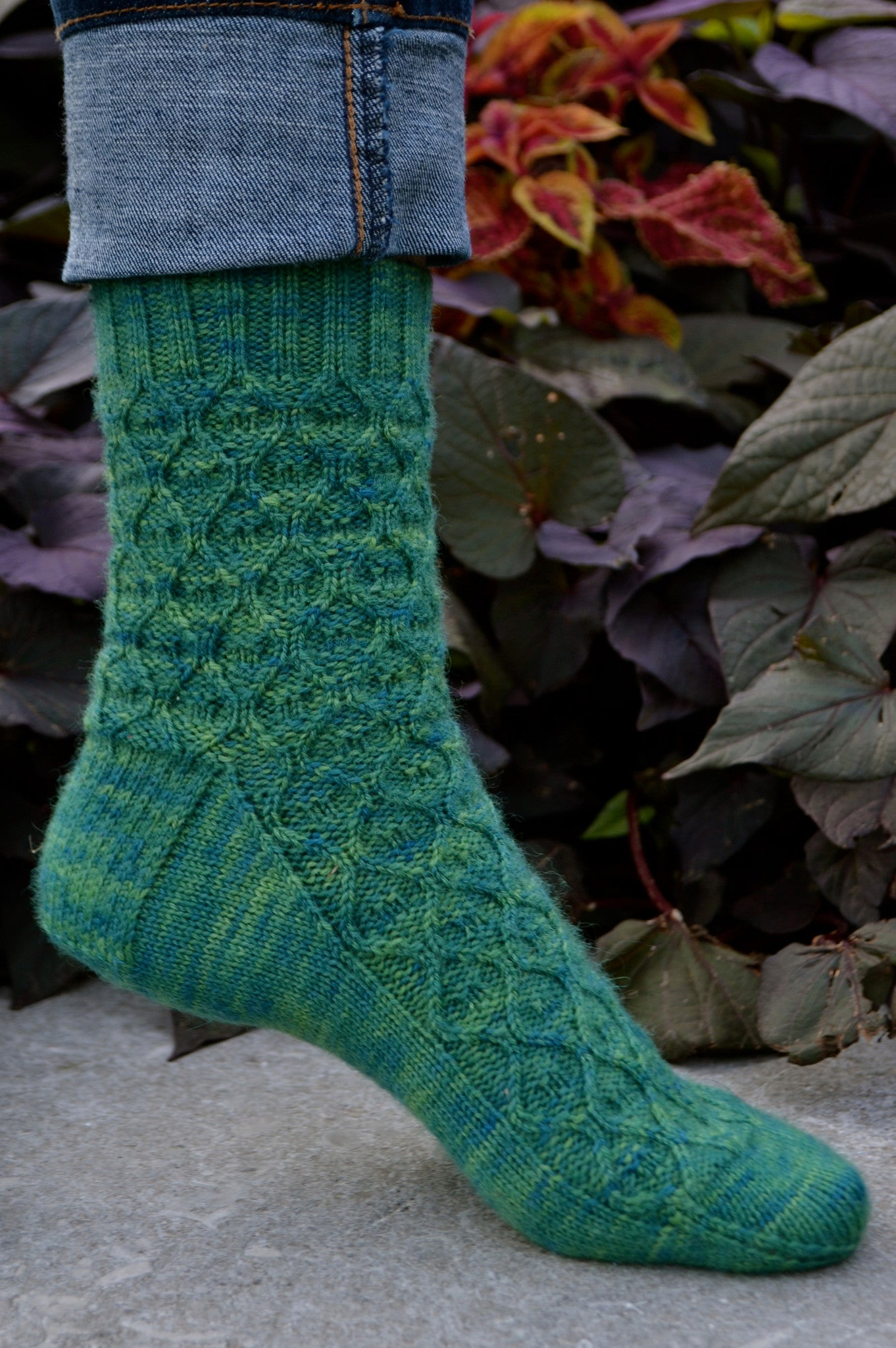 Boleyn Sock Knitting Pattern Sweet Paprika Designs