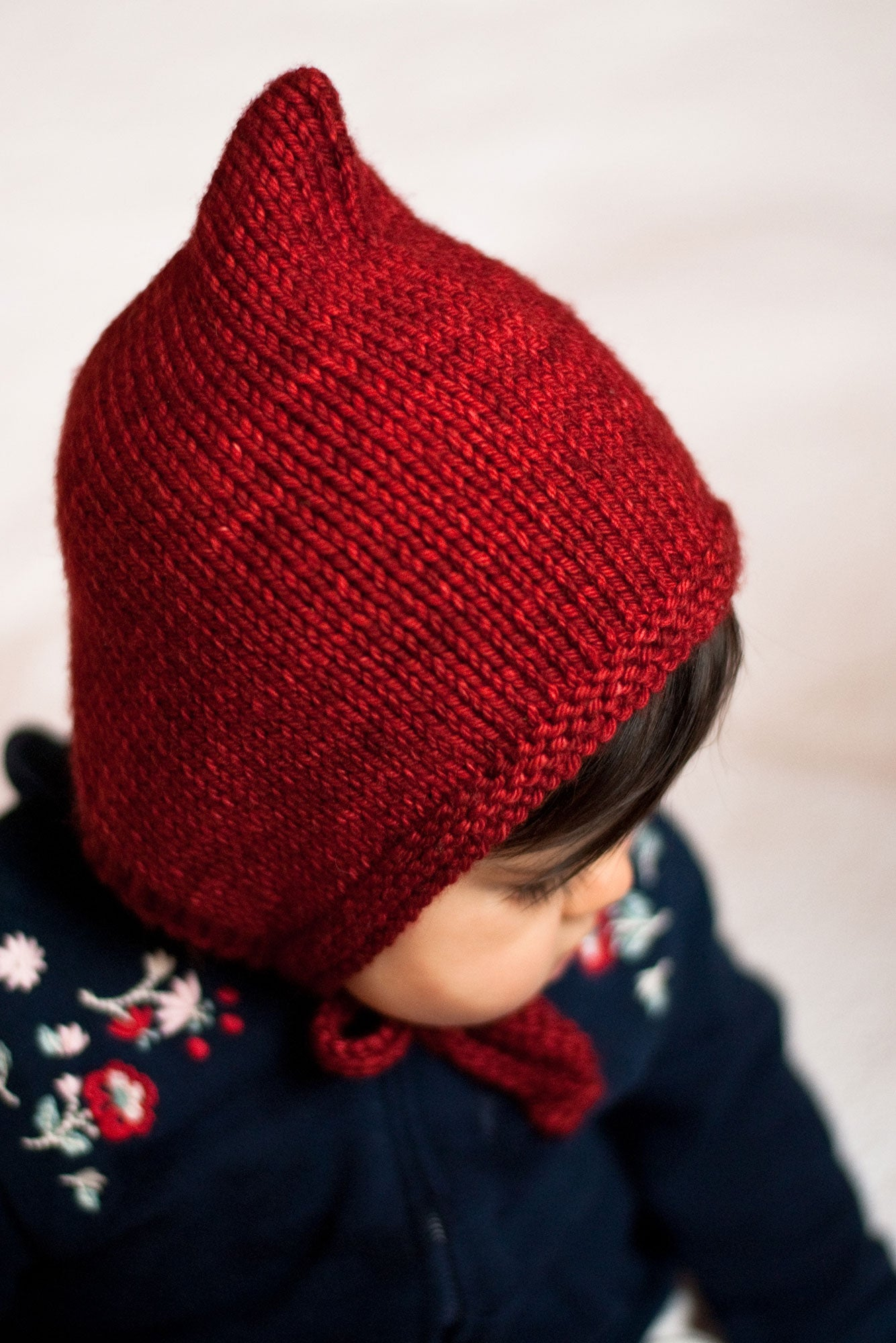 Hanabi hat knitting pattern - Sweet Paprika Designs