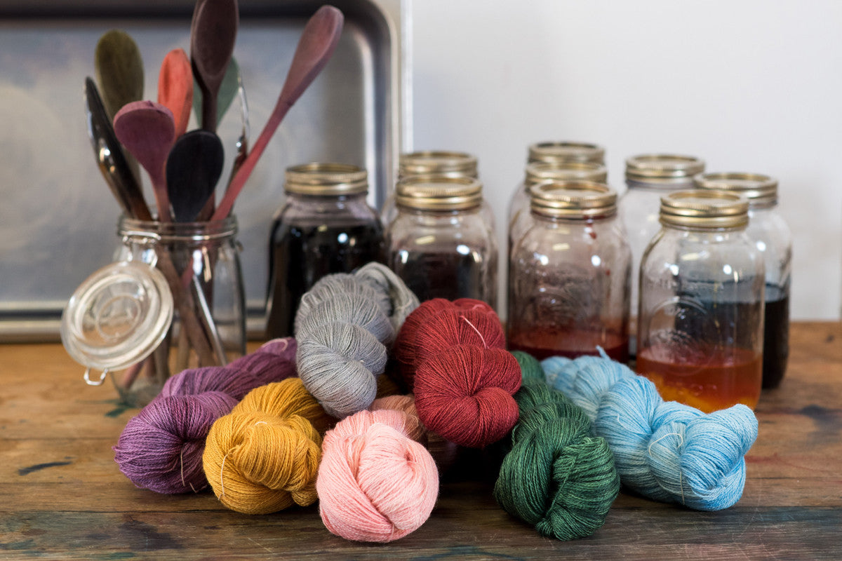 Intro to Yarn Dyeing Jan 19, 2020
