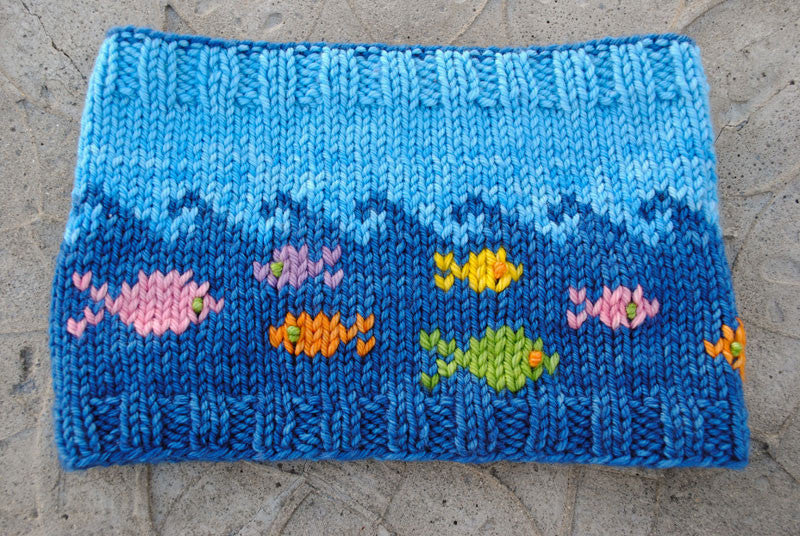 Fish in the Sea Cowl Knitting Kit