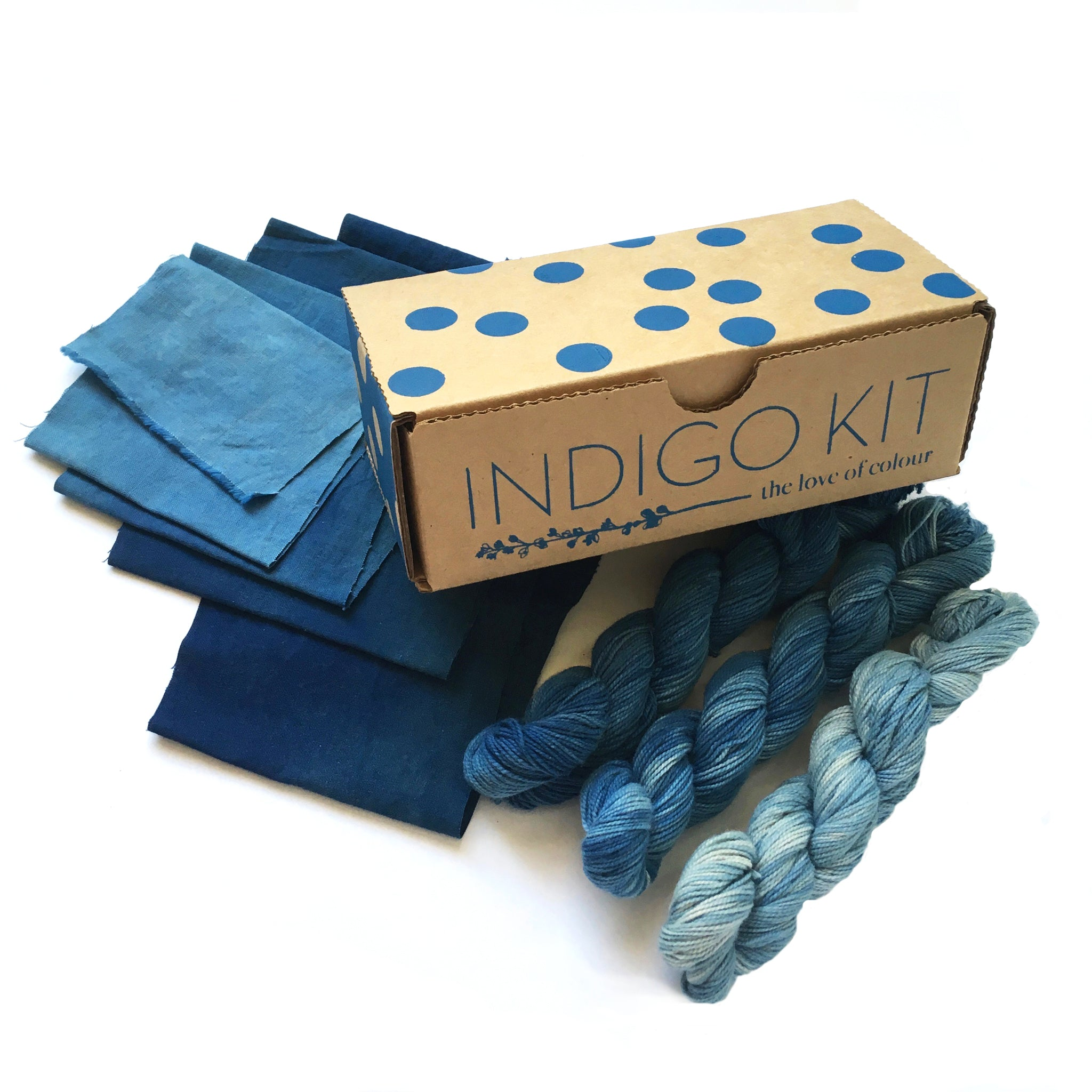 Indigo natural dye kit
