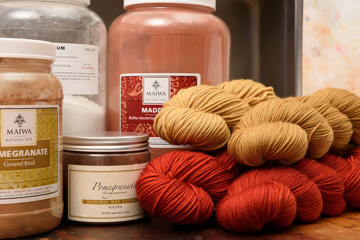 Intro to Natural Dyeing October 6, 2019