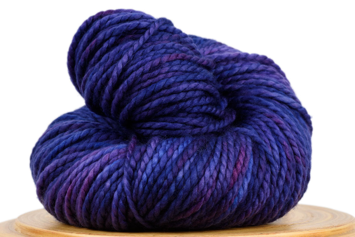 Presto bulky weight hand-dyed merino yarn in August