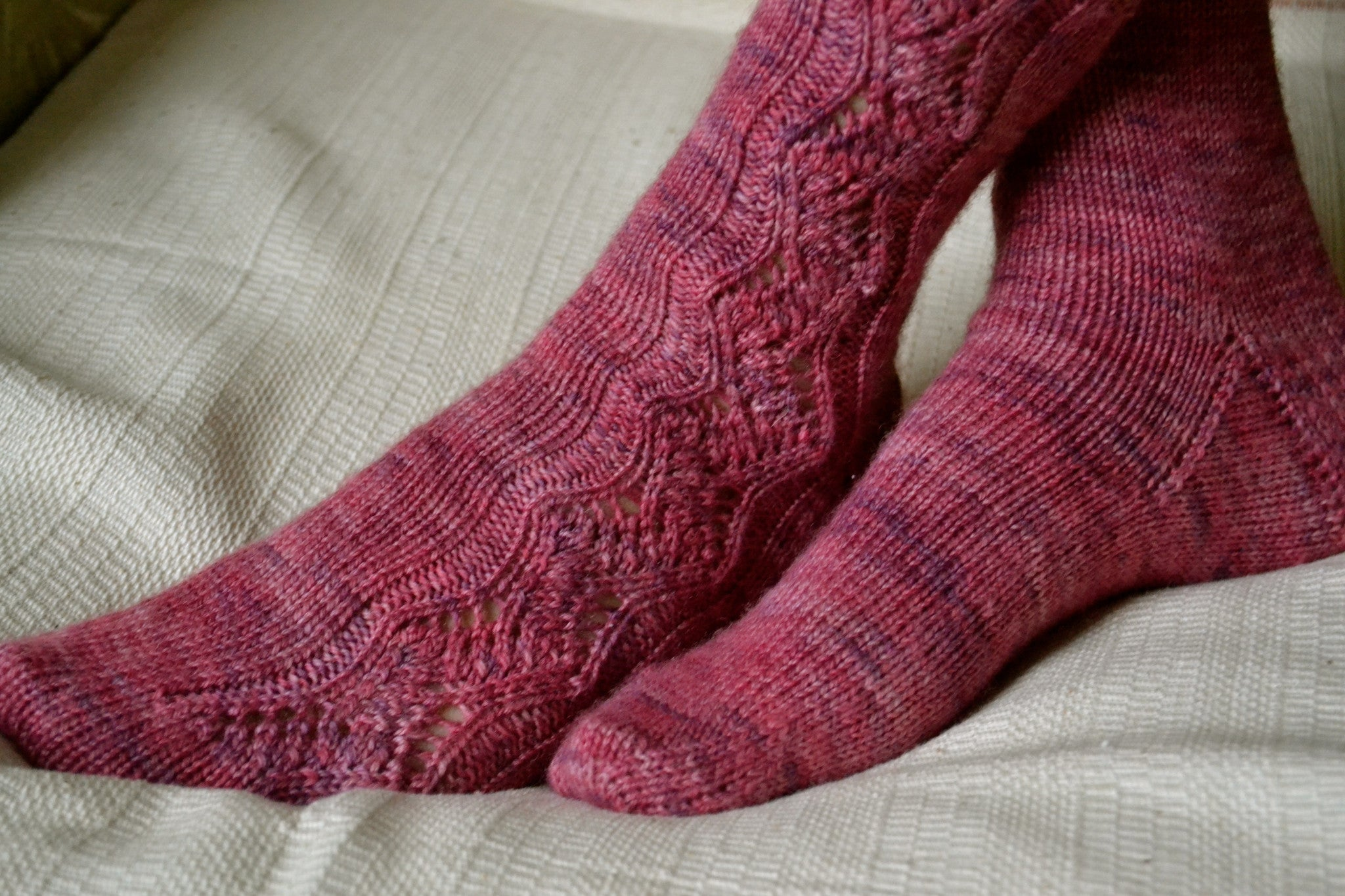 Rose Path Socks